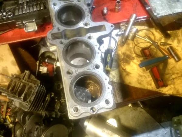 Gsf 750 suzuki bandit ремонт двигателя... 1часть
