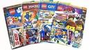 LEGO MOVIE 2, NINJAGO, STAR WARS, CITY Журналы СЮРПРИЗЫ и ИГРУШКИ по мультикам! Surprise unboxing