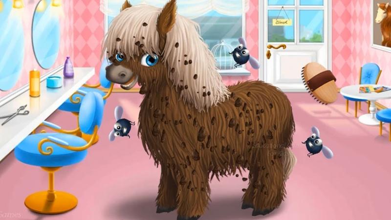 Peluquería Animal Juegos de Cuidado para Niños - Niños Aprenden Maquillaje Vestir Juegos