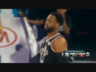 Dwyane Wade Last Alley-Oop to LeBron James