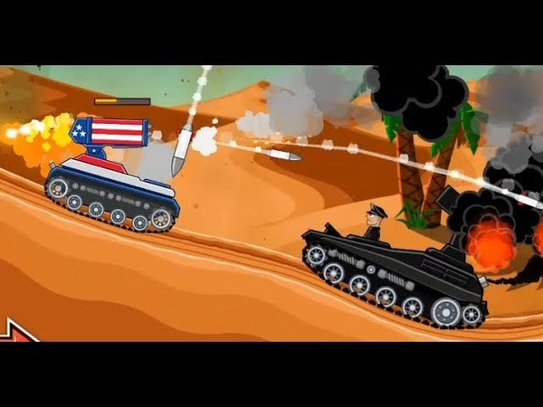 Hills of Steel Android Gameplay 2018 | Barracuda Tank | MAMMOTH Tank | Game For Kids | Games Bii