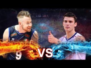 Ivan Zaytsev vs Matthew Anderson. 2018 Volleyball Nations League.