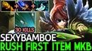 SexyBamboe Windranger Rush Frist Item MKB Epic Build 30 Kills 7 19 Dota 2