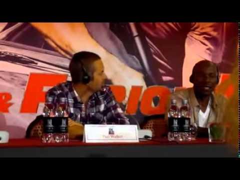 Paul Walker proud of Tyrese Gibson during Fast Five intervie
