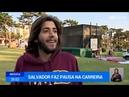 Salvador Sobral 'Casino do Estoril' Interview 08 09 2017 Portuguese
