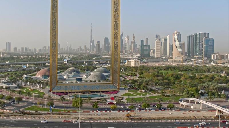 Новая достопримечательность Дубая - обзорная площадка Dubai Frame