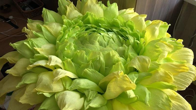 Ростовой цветок Зеленый эксперимент Ночник своими руками
