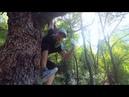 Лезем за хурмой в геопарке Cuihua