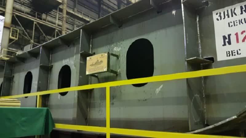 В Петербурге заложили ледокол «Евпатий Коловрат»