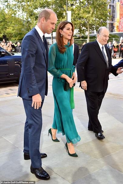 Кейт Миддлтон и принц Уильям встретились с выдающимися пакистанцами в Лондоне