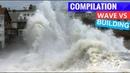 BIGGEST Waves Against Buildings Compilation