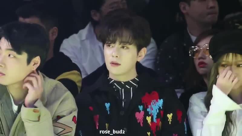 [Фанкам][18.10.18]Донхён на неделе моды в Сеуле
