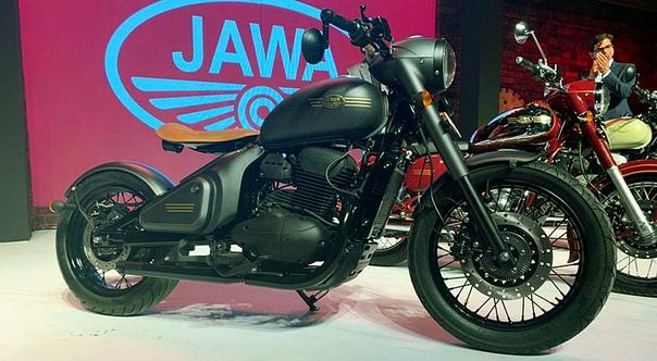 Новая Jawa: представлены три модели