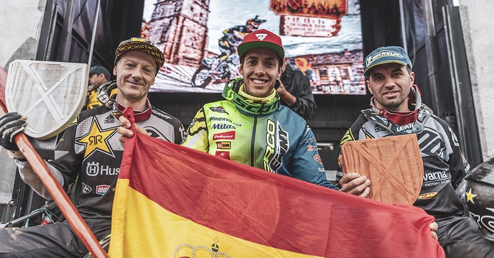 Марио Роман выиграл хард эндуро Hixpania 2018