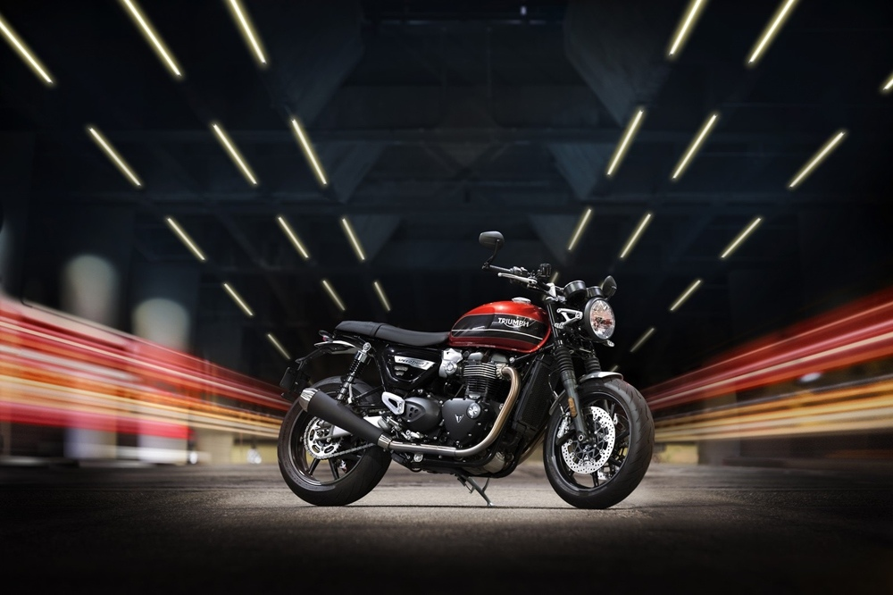 Фотографии мотоцикла Triumph Speed Twin 2019