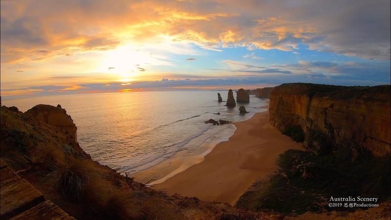 4K Twelve Apostles, Great Ocean Road AUSTRALIA Part 4 オーストラリア
