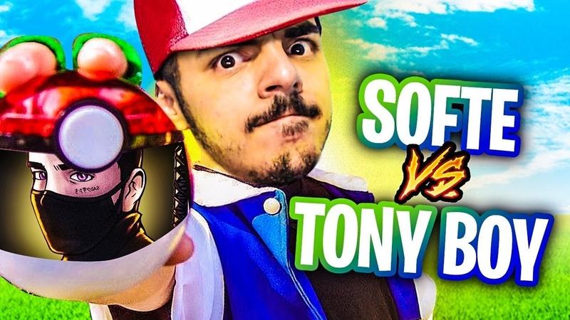 TONYBOY SE JUNTA AO NINJA NA COLECÃO DE POKEBOLAS DO SOFTE