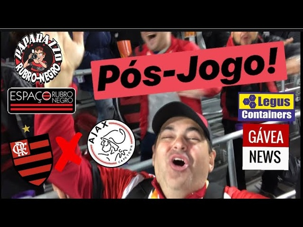Pós-Jogo: Flamengo 2 (4) x (3) 2 Ajax! Vitória nos Pênaltis na FLORIDACUP e Doc do Paparazzo!