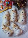 Печенье новогоднее Веселые снеговики