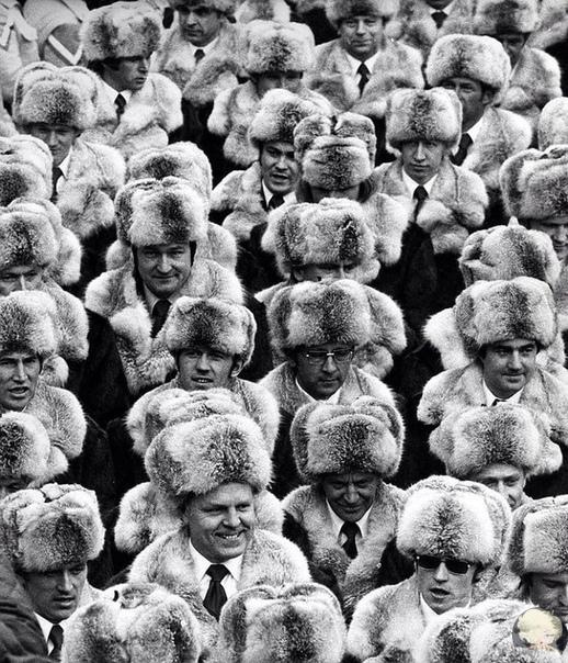 Олимпийская сборная СССР в Инсбруке, 1976 год.
