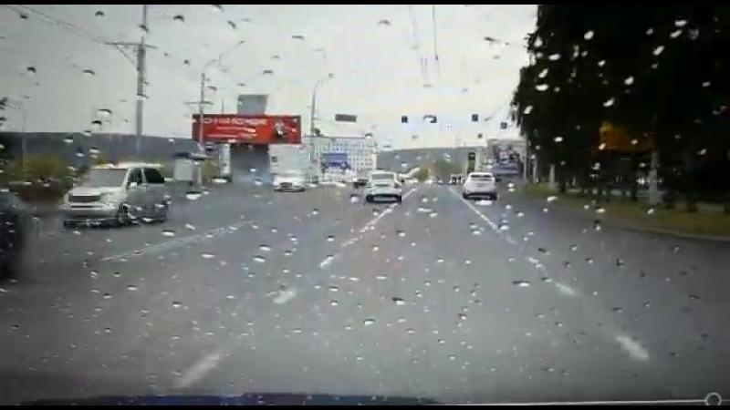 Момент ДТП, Кемерово