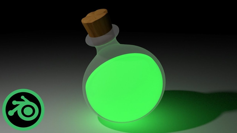 Potion Blender Speed Modeling