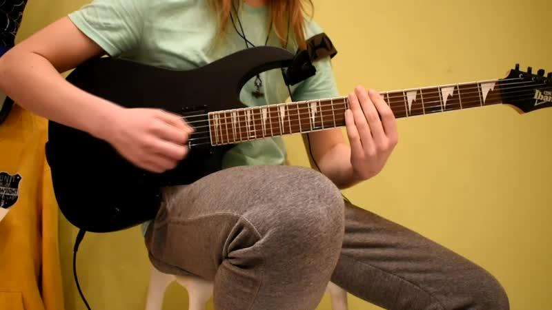 Skillet Monster guitar cover