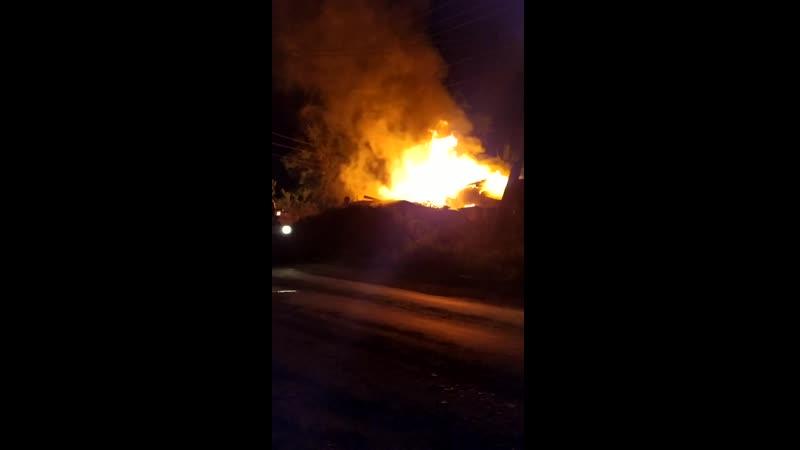 Огонь лишил крова жителя Больнички