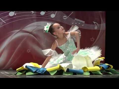 ДЮЙМОВОЧКА.Хореографический коллектив Триумф.Соло.Дарья Самодурова. танец
