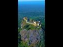 Монастырь Таунг Калат Мьянма