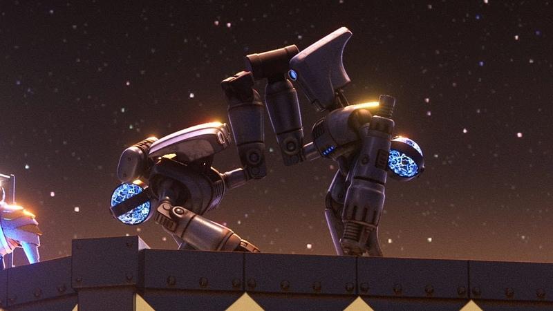 Smash and Grab новый короткометражный мультфильм от Pixar