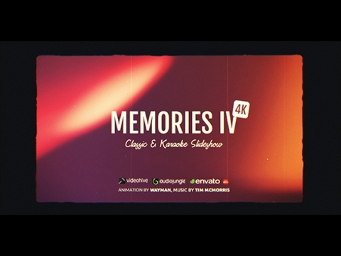 After Effects Template Memories IV - Classic Karaoke Slideshow 27