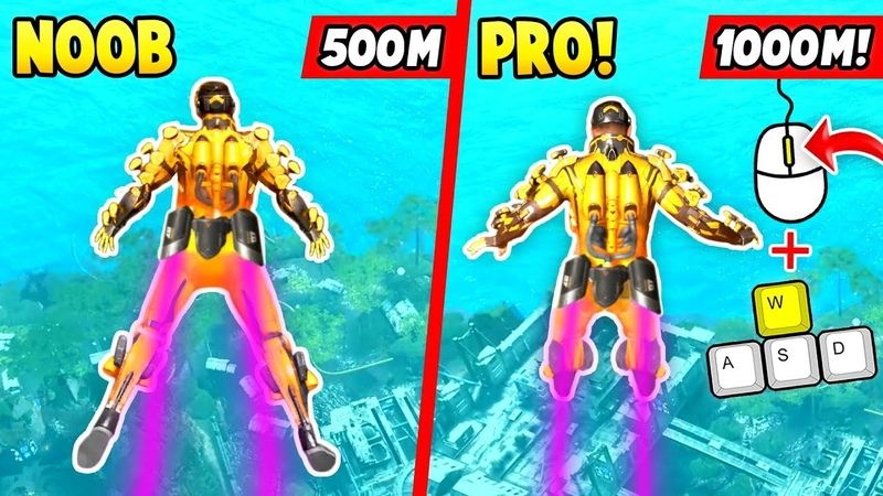 HOW TO FLY WAY FURTHER w BALLOONS! (Apex Legends Funny Epic Moments 5)