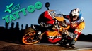 Тату Байк Repsol Honda Tattoo