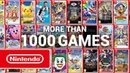 Over 1,000 games for everyone on Nintendo Switch!