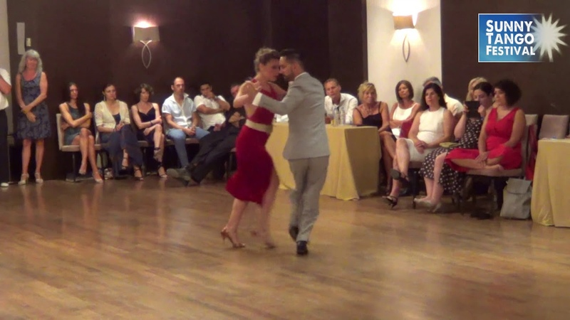 Juan Martin Carrara Stefania Colina 24, Sunny Tango Festival 2018, Crete, Greece