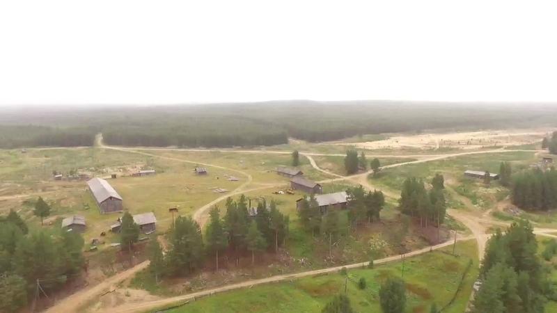 Поселок Пачиха 2 й клип с квадрокоптера