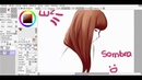 Hair tutorial Paint tool sai Lulybot