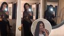 Kim Kardashian Selfie in 'Black Dress'