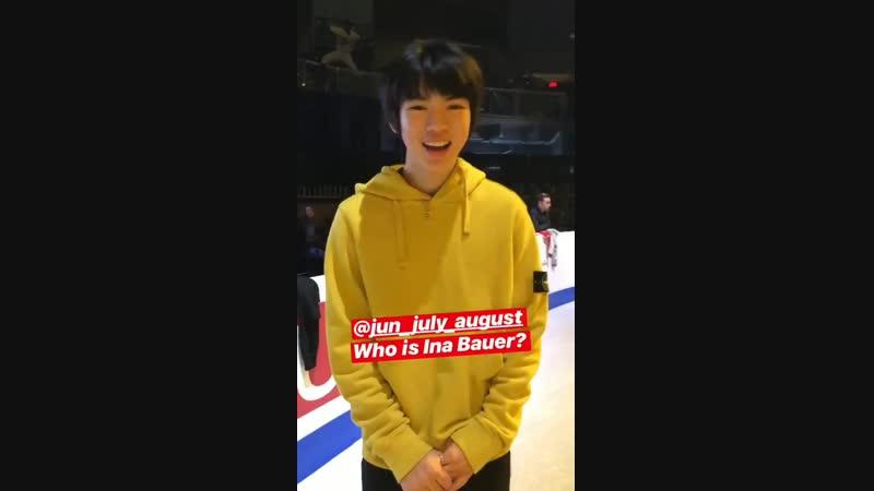 Jun is so cute, oh my god.