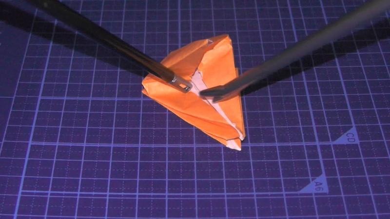 Japanese origami Paper crane for laparoscopic training Full version 15 min Japanese