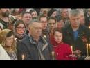 Игорь Востриков и его мама в храме в Кемерово 40 дней со дня гибели семьи в ТЦ Зимняя Вишня.