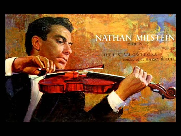 Bach Nathan Milstein, 1957 Violin Concerto in A minor, BWV 1041 - Complete (Vinyl LP)