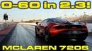 McLaren 720S 1/4 Mile