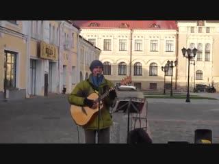Красная площадь. Рыбинск. Песня: Царевна Несмеяна. Поёт: Александр Колосов