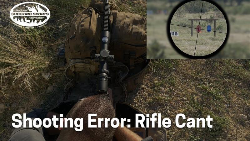 Shooting Error: Rifle Cant | Long-Range Rifle Shooting with Ryan Cleckner