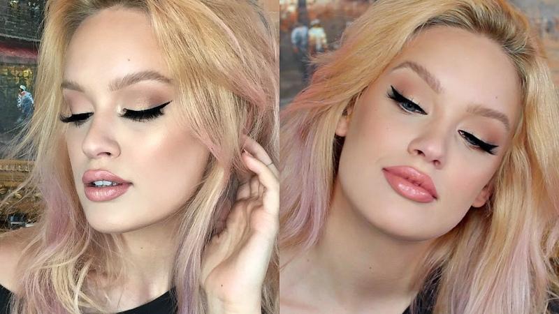 Client Makeup: Light/Fair Skin How To Winged Eyeliner ft. @DanielleKatTaylor