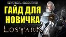 Lost Ark ГАЙД для Новичка классы прокачка профы гильдии море EvrialGaming