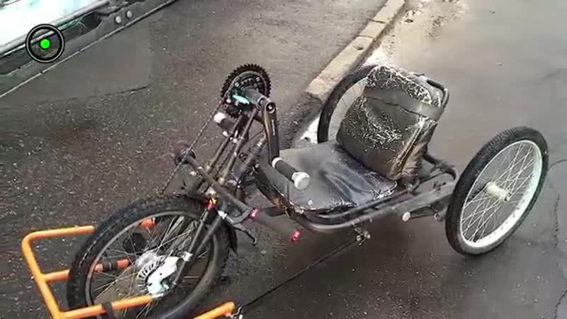 3-х колесный велосипед для инвалида-velo-sport-weko-scscscrp