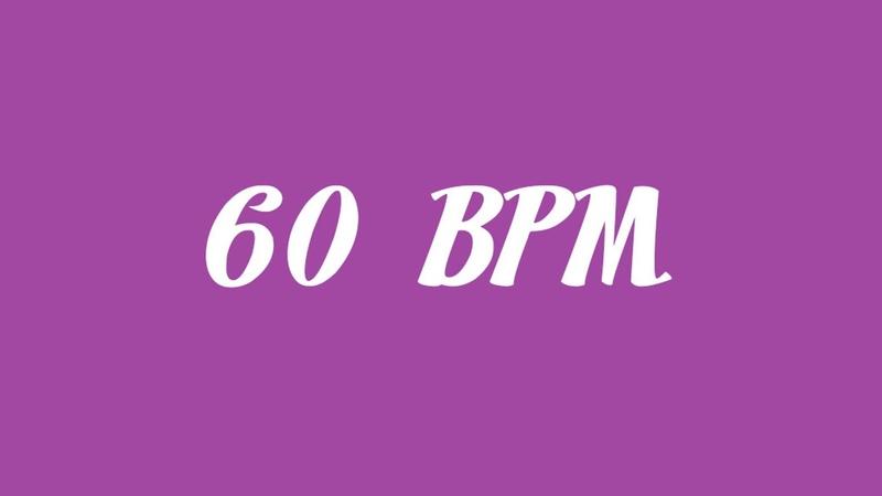 60 Beats Per Minute Metronome (~15 minutes)